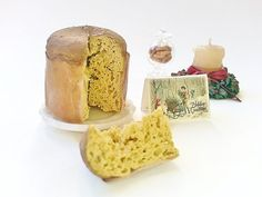 Miniature Christmas Panettone scale 1:12 / 1/12 by NatAcademy