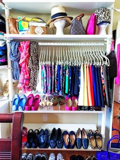 History In High Heels: Apartment Therapy: Closet Tour