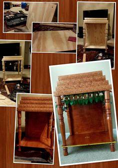Pooja Mandir DIY Home Depot Do it yourself Chandeliers, Mandir Design, Pooja Mandir, Indian Interiors, Puja Room, Design Blogs, Traditional Interior, Diy Décoration, Home Decor Furniture