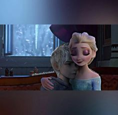 Shared by Stormy-Angel. Find images and videos about cute, disney and hug on We Heart It - the app to get lost in what you love. Jack Frost Movie, Elsa E Jack, Jack Frost And Elsa, Jelsa, Disney Princess Frozen, Elsa Frozen, Pics Art, Art Pictures, Frozen Comics