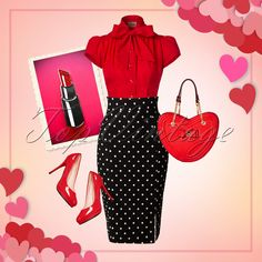This super feminine outfit is a real must-have for Valentine's Day!