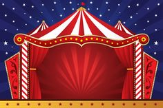 circus background | Circus Stage Background Circus tent 2