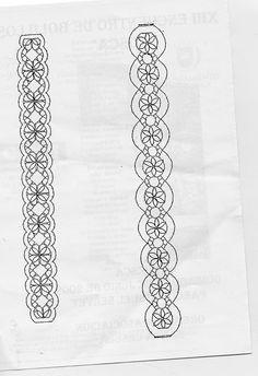 Miesto stretnutia pre krajkárov (strana 92) | Učenie remesiel je facilisimo.com Bobbin Lace Patterns, Embroidery Patterns, Crochet Patterns, Bobbin Lacemaking, Lace Jewelry, Needle Lace, Lace Making, Jewelry Patterns, Hobbies And Crafts