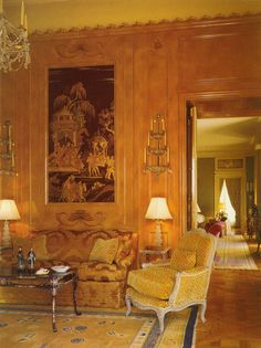 Atkinson/Kirkeby Mansion. 750 Bel Air Road. Estate Built 1930-1940. Interior Design by Henri Samuel.