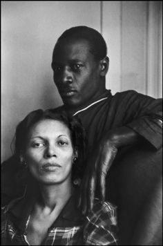 New York, 1935. Joe, a jazz trumpet player with his wife May. Copyright Magnum Photos, Henri Cartier Bresson