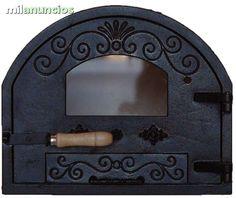 puertas de hornos de leña - Buscar con Google Barbacoa, Mirror, Google, Home Decor, Steel Doors, Wood Burning Oven, Ovens, Columns, Breads