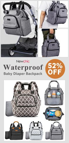 52% off 24L Waterproof Mum Backpack Camping Travel Multifunctional Bag  Diaper Bags Maternity Baby Care Bag. baby  nappybags  waterproof 041e92e499b8e