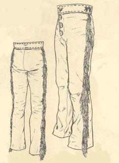 women deerskin pants clothing - Google Search
