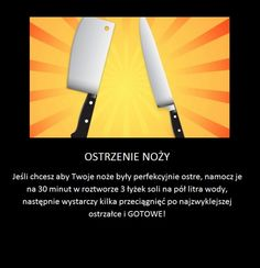 Jak perfekcyjnie naostrzyć nóż Pam Pam, Kitchen Organisation, Homemade Tools, Home Hacks, Good Advice, Kitchen Hacks, Home Remedies, Need To Know, Helpful Hints
