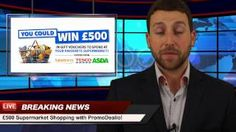 http://promodealio.com/win-supermarket-gift-vouchers/  -  Enter and win £500 worth of gift vouchers and discount codes to shop in your favourite supermarket.   Win coupons for Asda, Tesco and Saintsbury's. Just follow the instructions to benefit this amazing special offer! Sharing is caring, so we made a special breaking news story for you. So spread the word and share this message as much as possible.