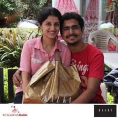 #ClickWithKalki #customers #happy #special #saree #shopping #sale #smiling #couple #cute