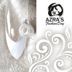 """Azra's Fashion Day: Ein Traum in Weiß! Nailart """"Der schönste Tag im Leben"""" #Hochzeit #weiß #abc_nailstore"""