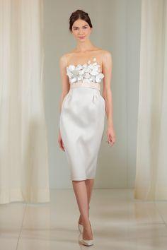 The Best Short Wedding Dresses at Bridal Fashion Week  - ELLE.com