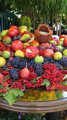 Download Wallpaper 720x1280 Fruits, Berries, Table, A lot of Samsung Galaxy S3 HD Background