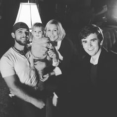 Max Thieriot to my first day as a director on the set of . Miss you guys ! Norman, Bates Motel Cast, Max Theriot, Dylan Massett, Freddie Highmore Bates Motel, Good Doctor Series, Norma Bates, Miss You Guys, Nostalgia