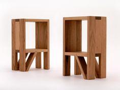 Tasmanian Oak Bedside Tables by Smith & Thomas  - Tasmanian Oak, Bedside, Handmade, Melbourne, Furniture