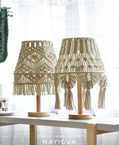hey 'Tuesday' 🌵🌼🔆 Source by tzankarakek Macrame Wall Hanging Diy, Macrame Plant Hangers, Macrame Art, Macrame Projects, Macrame Knots, Lamp Cover, Deco Boheme, Macrame Design, Macrame Tutorial