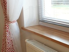 Wooden Window sills: oak
