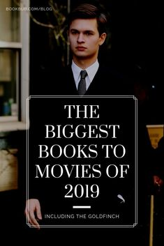 Check out this must-watch list of the biggest books to movies coming out this ye Book Club List, Book Club Reads, Book Club Books, Book Lists, Good Books, Must Watch Movies List, Books To Read 2018, Top Rated Movies, Movies Coming Out