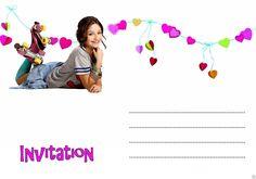 5 ou 12 cartes invitation anniversaire soy luna REF 361 2