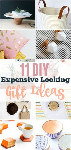 Stumped about what to make your loved ones this year? Check out this great list of 11 DIY Expensive Looking Gift Ideas. Totally Pinning!