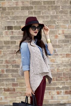 10 Fall Fashion Trends For 2013 | Fab You Bliss sweaters, color combo, fall fashions, colors, personal style, fall outfits, fall fashion trends, chambray, pink peonies
