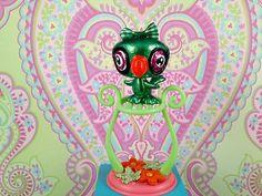 +PERFECT PETS FOR YOUR MONSTER HIGH GOULS:   Littlest Pet Shop Bird Parrot OOAK Custom Hand Painted Littlest Pet Shop LPS   eBay