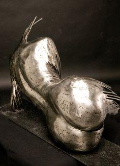 Love love love this!   Gage Prentiss - Welded metal sculpture extraordinaire!     www.gageprentiss.com