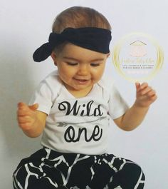 Check out this item in my Etsy shop https://www.etsy.com/ca/listing/255186454/wild-one-onesie-1st-birthday-onesie-baby