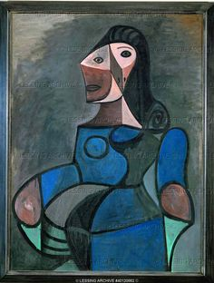 BLUE PERIOD, PICASSO PAINTING 20TH