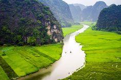 Top 7 best places to visit in Vietnam in your first time trip  #NinhBinh #travelinninhbinh #visitinVietnam