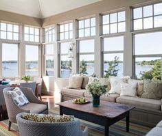 Sunroom with wall to wall windows | Melody Duron