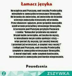 Funny Facts, Funny Memes, Polish Words, Polish Language, Scary Funny, Weekend Humor, Self Development, Really Funny, Quotations