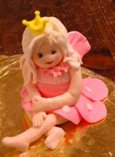 How To Make a Fondant Fairy Tutorial on Cake Central on Cakecentral.com