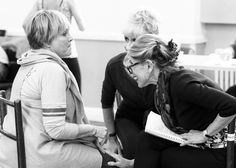 Christine Baranski, Lorna Luft & Anota Dobson at rehearsals for Follies In Concert