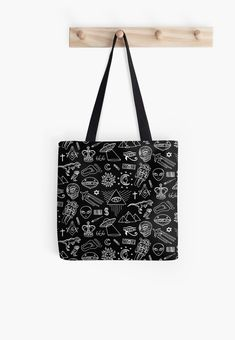 'Gold Zodiac Constellations Pattern' Tote Bag by Anastasia Shemetova Printed Tote Bags, Cotton Tote Bags, Reusable Tote Bags, Large Bags, Small Bags, Iphone Wallet, Iphone Cases, White Balloons, Zodiac Constellations