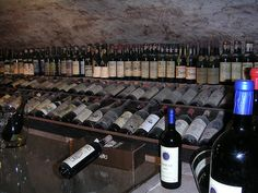 Lucca #Italy - wine cellar at Enoteca Vanni  wines date back to early 1900s