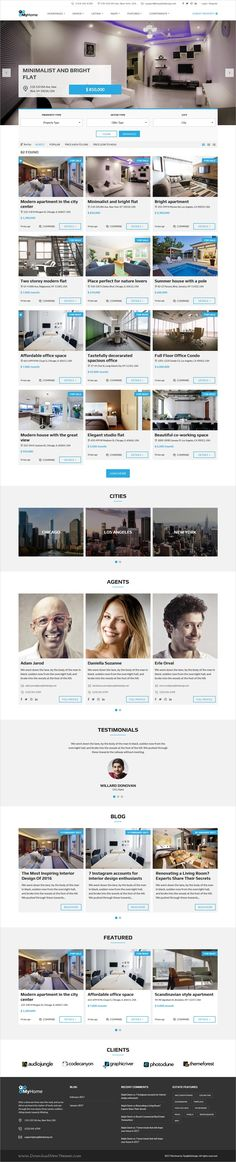 MyHome is beautifully design 9in1 responsive #WordPress theme for professional #realestate and property agencies website download now➩ https://themeforest.net/item/myhome-real-estate-wordpress-theme/19508653?ref=Datasata