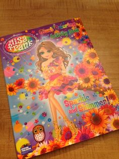 Lisa Frank Giant Coloring and Activity Book Sparkle by luv4cards, $3.29