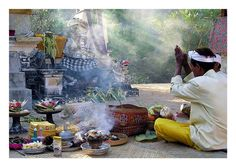 Ceremony - Sanur, Bali Bali Floating Leaf Eco-Retreat. http://balifloatingleaf.com/