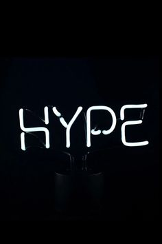 Amped & Co Hype Neon Sign
