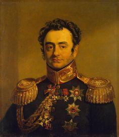 Portrait of Pavel A. Shuvalov (1774-1823) - George Dawe