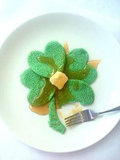 How-To Make: Four Leaf Clover Pancakes!