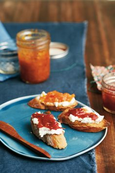 I love cooking and hosting, so I'm always on the lookout for new appetizer recipes. I believe the perfect appetizer should be quick, original, with a nice presentation and—above all—taste delicious. That's why I'm so excited about this Crostini with Spiced Tomato Jam and Ricotta recipe, fromDomenica Marchetti's Italian cookbook,Preserving Italy.  ...