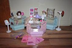 kiosque fashion Barbie vintage