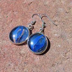 Alley Cats for Your Ears  Artisan Glass Marble Earrings by ReasonablyRustic, $18.00