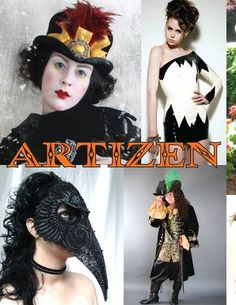 Fabulous handmade Halloween costume collection from Artizen Magazine #Halloween #costume #handmade
