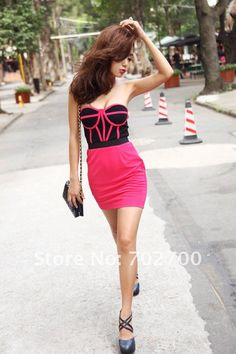 Cute collision color dress! $17