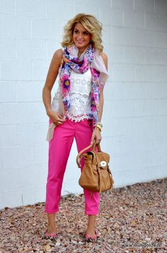 shirt. pant. scarf. bag. all of it. yes, please