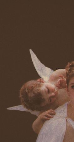 aesthetic angel wallpaper
